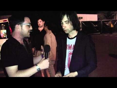 An interview with Bobby Gillespie, Primal Scream, at OFF Festival, Poland 2011.