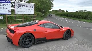 Just pure sounds of supercars leaving an event accelerating making ...