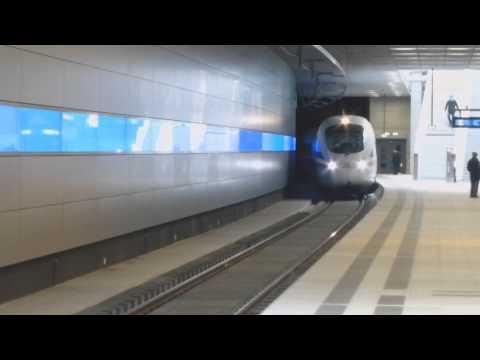 ICE T Durchfahrt Leipzig Bayerischer Bf. / City Tunnel