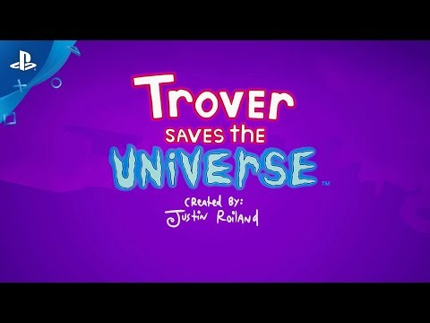 Trover Saves the Universe - E3 2018 Announce Trailer | PS4, PS VR