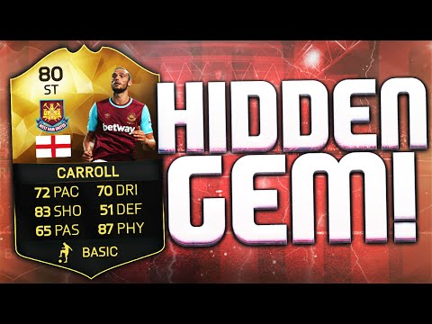 HIDDEN GEM IF ANDY CARROLL IS CRAZY!!!! 99% SCRIPTED MATCH!!! FIFA 16 ULTIMATE TEAM