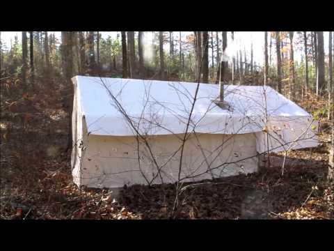 12x14 wilderess tent - hunting camp