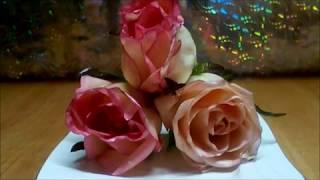 Как продлить жизнь цветам Розы в воске! Preserving Roses in wax