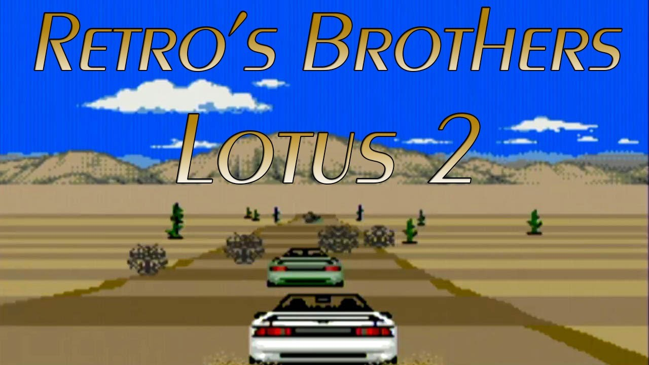 the cheapest classic various design Retro's Brothers - Lotus 2 ! Chauffeur si t'es champion !