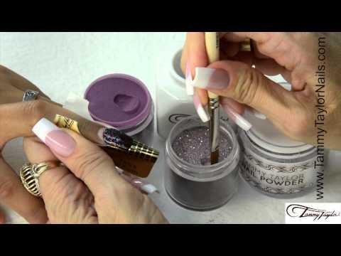 Dazzle Rocks Glitter Acrylic Nail Designs