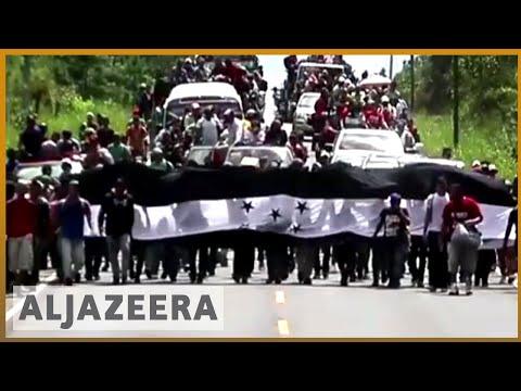 🇭🇳 Migrant caravan activists: Trump to blame for Honduras situation | Al Jazeera English