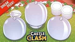 Castle Clash Clashgiving Sneak Peek! Help!