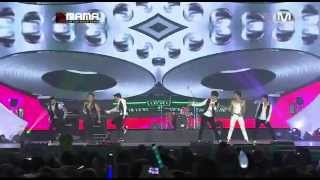 J.Y.PARK X JANGWOOYOUNG @ 2012 MAMA in HONG KONG (박진영 X 장우영)