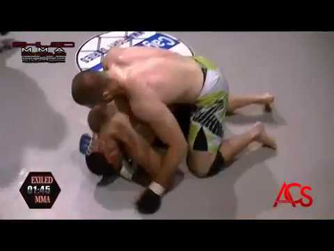 ACSLIVE.TV Present's Exiled MMA Dominique Avilla Vs Deon Jewel