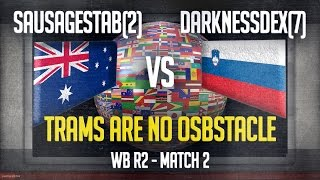 match 2 tram no obstacle sausagestab 2 vs darknessdex 7 wb r2 ti3 mow as2