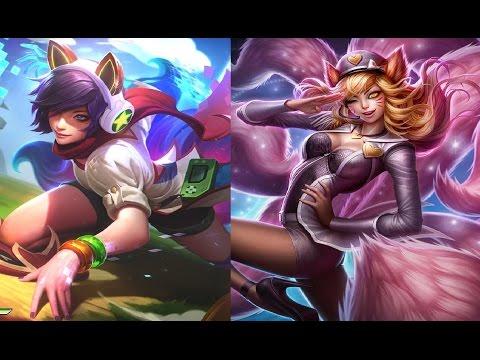 Arcade Ahri vs Popstar Ahri (Skin Karşılaştırması #2)