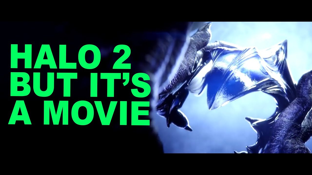 Halo 2 but it's a typical movie trailer