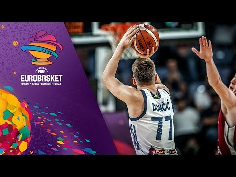 Slovenia v Latvia - Highlights - Quarter-Final - FIBA EuroBasket 2017