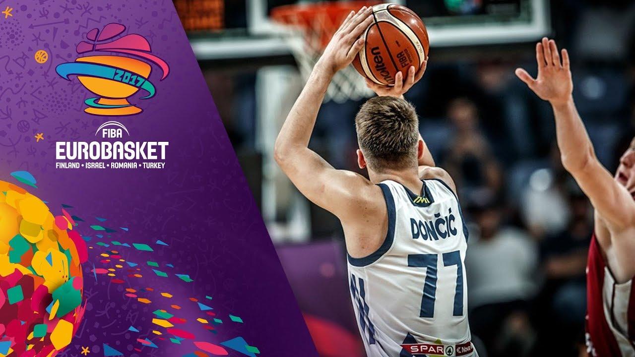 Slovenia v Latvia - Highlights - Quarter-Final - FIBA EuroBasket 2017