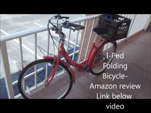 Folding Bike Robb Unboxes 149 Red I Ped Bicycle Good