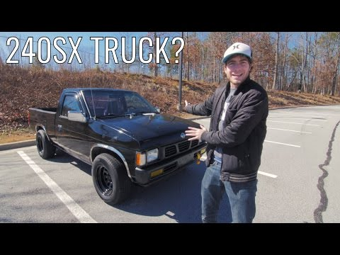 Is the D21 Nissan Hardbody a 240SX in Disguise?