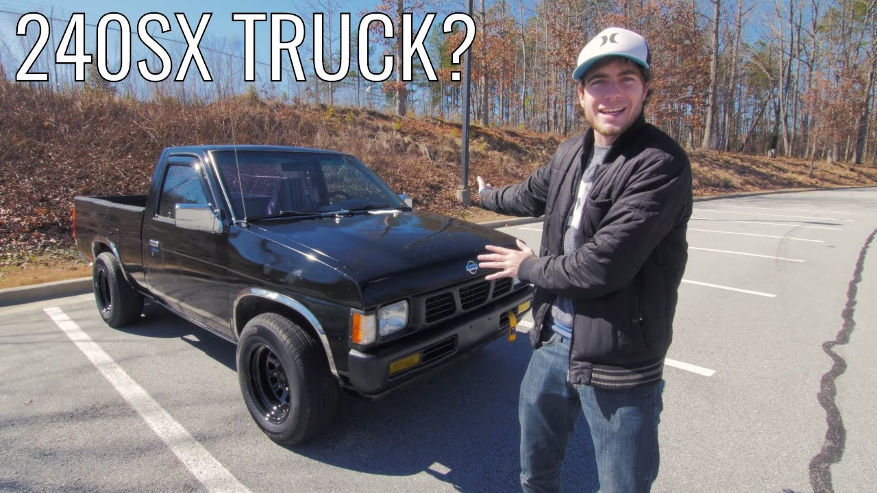 Is The D21 Nissan Hardbody A 240sx In Disguise