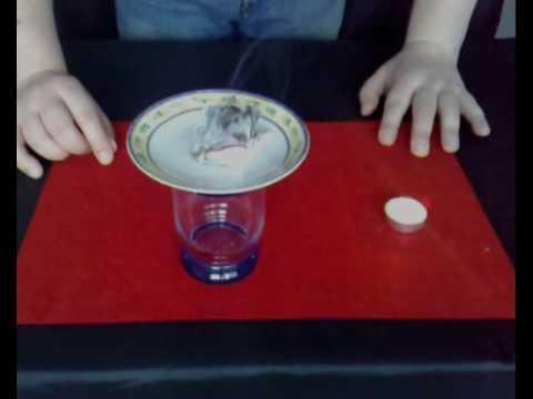 Zaubertrick Mit Erklärung Münze Durch Teller Youtube