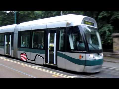 Nottingham Express Transit - Station Street to Hucknall via Phoenix Park