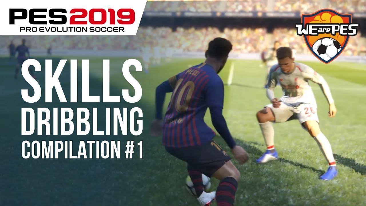 PES 2019 - Insane dribbling & skills show - clipzed com