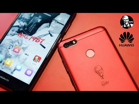 KFC And Huawei's Smartphone Is Here  And Its Real !!