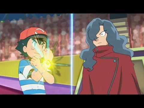 Pokemon Battle USUM: Champion Ash Vs Tobias (Alola Champion Vs Sinnoh Champion)
