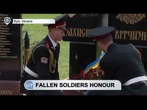 Ukraine Fallen Soldiers Honour: Memorial unveiled at military university ceremony