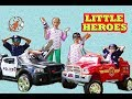 New Sky Kids Little Heroes Super Episode - The Ice Cream Cart and The Ride on Fire Engine for Kids