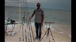 Тест удилищ на дальность комфортной ловли на море