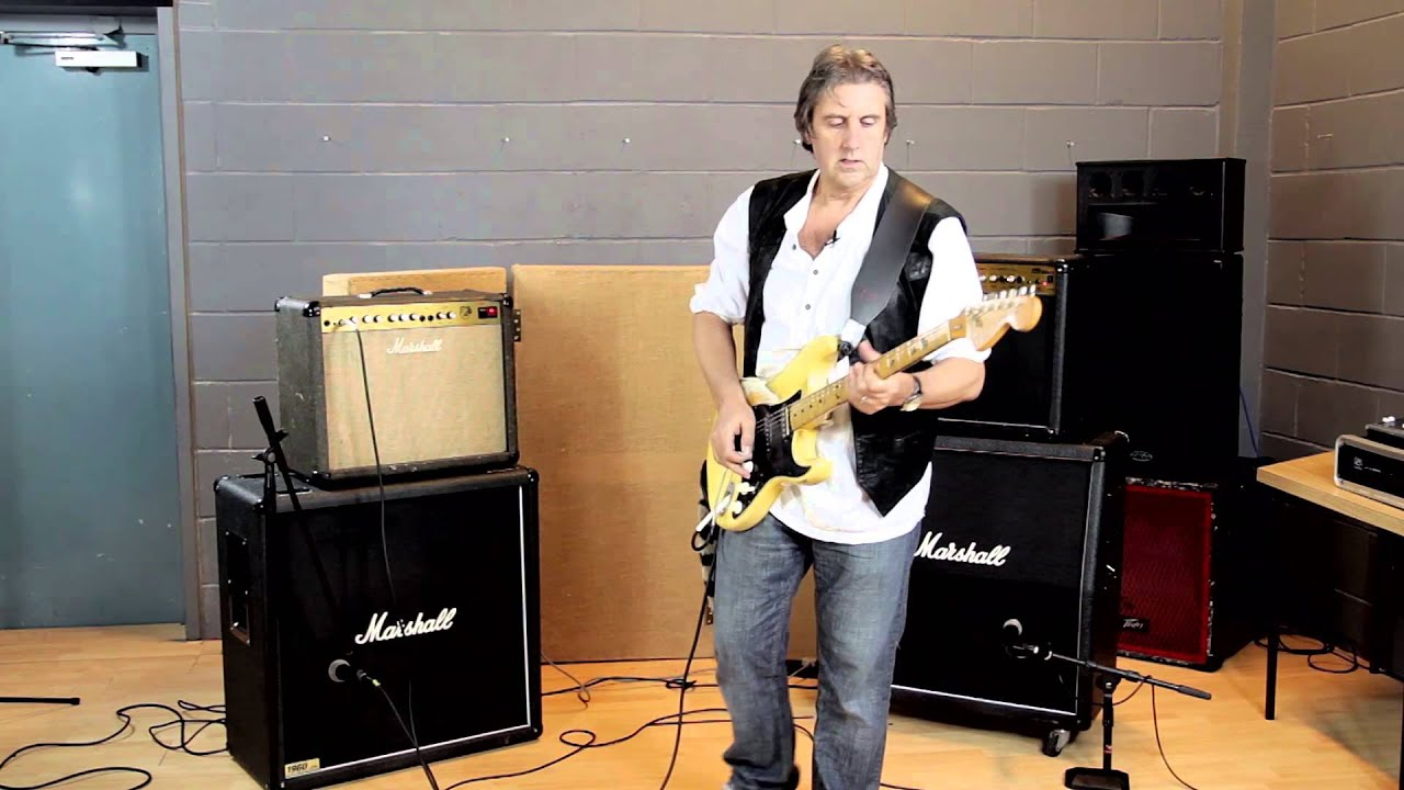 Marshall Amps - Valve vs  Solid State comparison by The Clan's Craig  McDonald