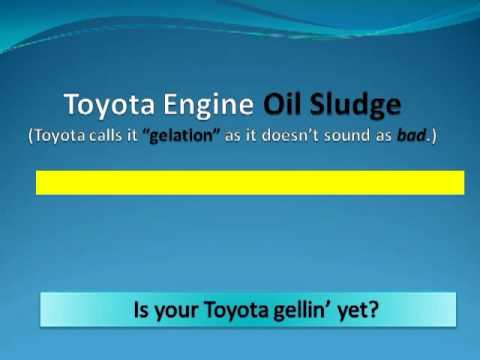 Toyota Engine Failure Due to Oil Sludge Continues! Safety-Related?