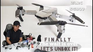 Unboxing ZL RC Quadcopter SG907 (from wish) so far I'll say, i love it!!! | PinoyDairyFarmer