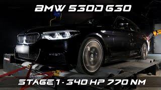 чип-тюнинг BMW 530d (G30) с замерами на мощностном стенде