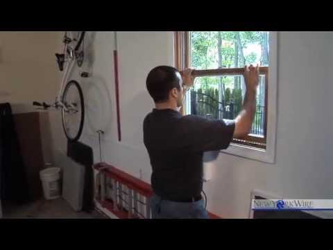 How To Install An Adjustable Window Screen   YouTube
