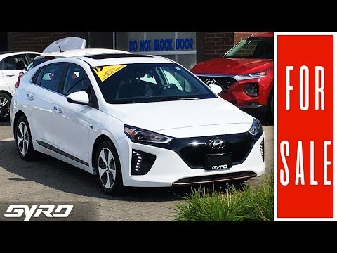 The Gyro Group Presents 2017 Hyundai Ioniq EV Limited - Pre Owned Gyro Special