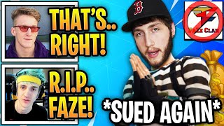 Streamers *SHOCKED* As FaZe Clan Is SUED AGAIN After STEALING MILLIONS! (R.I.P FaZe)