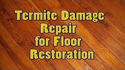 Termite Damage Repair  for Floor  Restoration