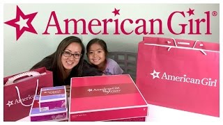 AMERICAN GIRL Shopping HAUL Birthday Party Favors, Pets & Accessories