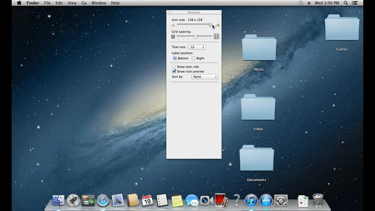How to Change Icon Size in Mac OS