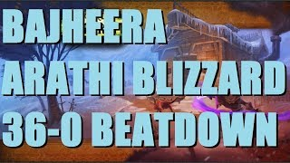 Bajheera - ARATHI BASIN BLIZZARD 36-0 BRAWL BEATDOWN - WoW Legion 7.3 Rank 1 Warrior PvP