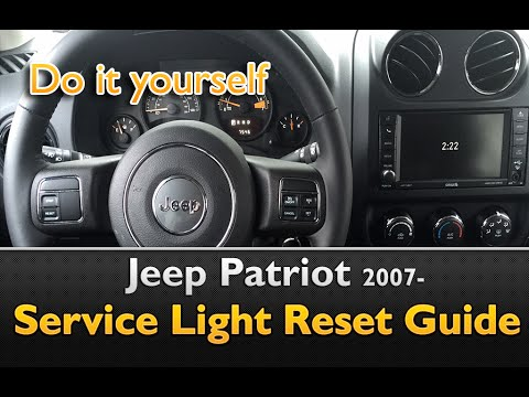 Jeep Patriot Service Light Interval Oil Life Reset Guide