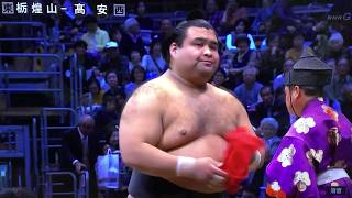November 2018 - Day FIVE - Takayasu v Tochiozan