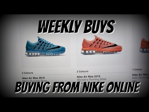 Buying From NIKE ONLINE   WEEKLY BUYS   Pre-Xmas Buys