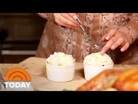 thanksgiving-recipes:-make-sandra-lee's-cornbread-stuffing-|-today