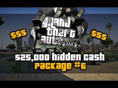 GTA 5  Easy 25000 Sixth Hidden Package 6 Location Voice