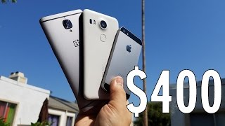 OnePlus 3 vs iPhone SE vs Nexus 5X - Budget battle!