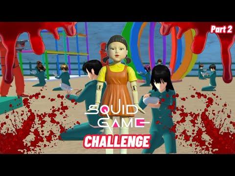 Squid Games 2 || Sakura School Simulator Horor || Film Horor || Hantu || Sakura Horor| Film & Animation