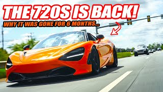 THE MCLAREN 720S IS BACK! (so we immediately took it on a supercar rally) & Why It Disappeared...