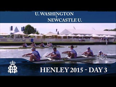 U. Washington v Newcastle U.   Day 3 Henley 2015   Prince Albert