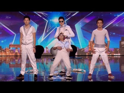 Britain's Got Talent 2016 S10E05 Tumar KR Pop Contortionist Dancers from Kyrgyzstan Full Audition